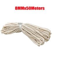 Macrame Rope Natural Cotton DIY Craft Cord Spool 8mm x 50meters
