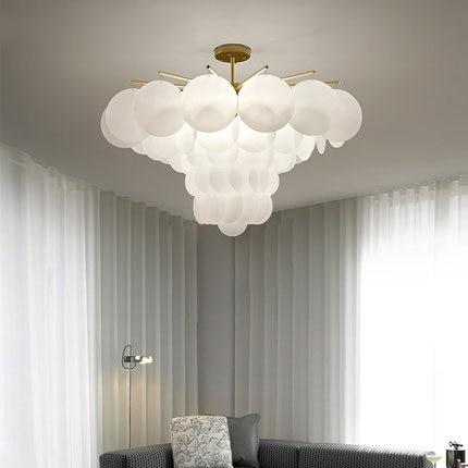 LED Modern Pendant Lights Fixture American White Gold ...