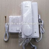 High quality and unique design Audio intercom system Two way intercom door phone with lock function
