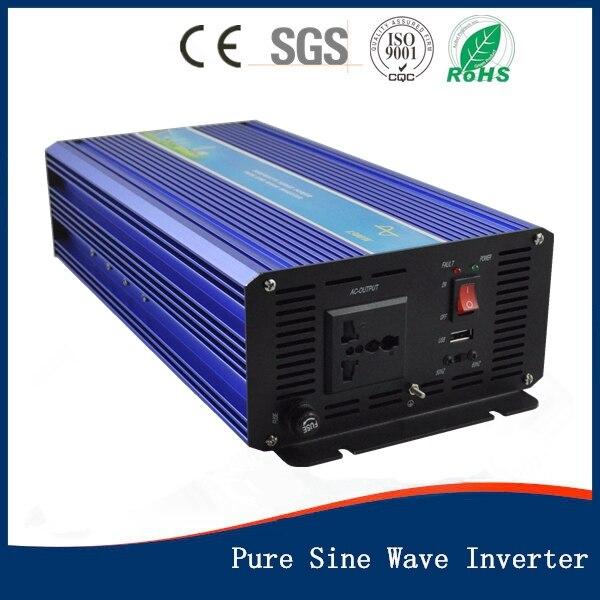 Off Grid 1500w DC12V AC110V 60HZ Pure Sine Wave Solar Inverter or Wind Inverter peak power 3000w 50Hz/60Hz , Single Phase maylar 3 phase input45 90v 1500w wind grid tie pure sine wave inverter for 3 phase 48v 1000wind turbine no need extra controller
