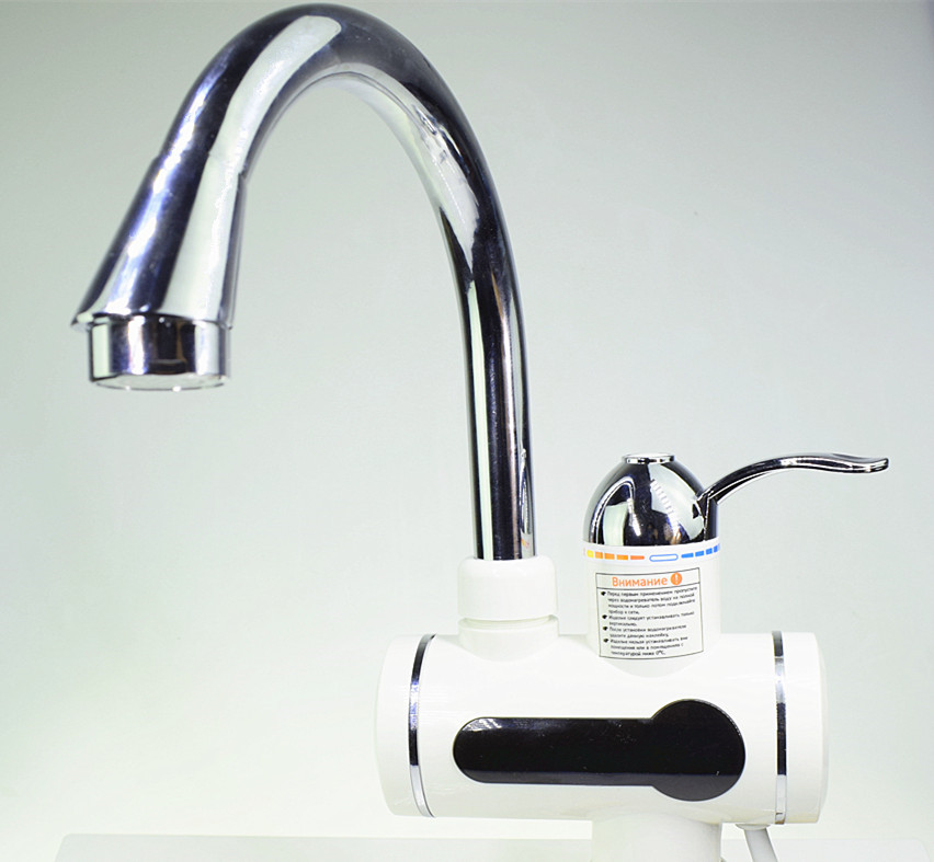 Electric Kitchen Water Heater Tap Instant Hot Water Faucet Heater Cold Heating Faucet Tankless Instantaneous Water Heater instant electric water heater faucet cold