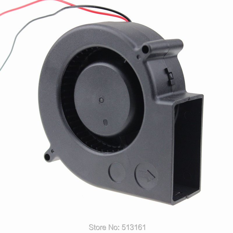 97mmx97mmx33mm 9733 12V Ball Bearing Cooling DC Cooler 97mm Blower Radial Fan delta new 9733 super large dry machine blower fan violence 12v 6a bfb1012uh 97 97 33mm