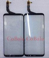 LOVAIN 1 Unids Original Para Samsung Galaxy S8 + S8 Más Borde G955F G955 LCD Exterior de Cristal Del Digitizador de la Pantalla Táctil Reemplazo del panel