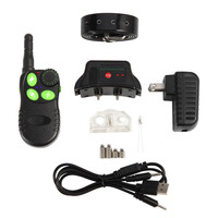 550M IP67 Waterproof Rechargeable Dog Stop Barking Dog Trainer Remote Control Bark Stopper For Swimming EU