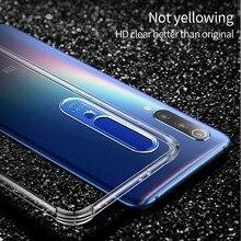 Msvii Airbag Case For Xiaomi Mi 9 SE Note 7 Transparent Silicone Clear TPU Soft Shell Mi9 Redmi Cover Coque Luxury
