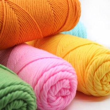 1 Stück 100g Dk 8 Lagen Baumwolle Garn Baby Pullover Stricken Garn
