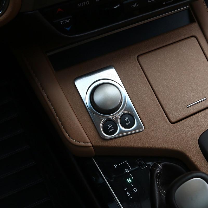 2013 Lexus Es Interior: Lsrtw2017 Car Styling Car Driving Mode Adjust Button Trim