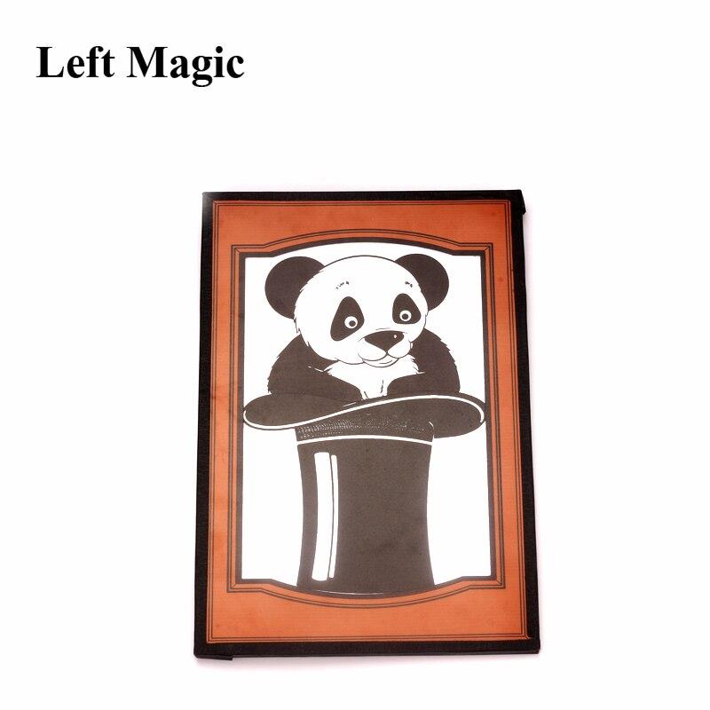 Los objetos aparecen en el sombrero de la parte superior del sombrero para el regalo de los niños trucos de magia profesionales para la ilusión de la etapa del mago accesorios mágicos