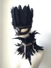 Мальчики Skullies & Beanies шляпы В Стиле Барокко стиль шапки золотой blackfeather костюмированный бал маска маска jewel бальные женская головной убор