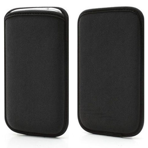 the latest fe09f 62105 US $2.99 |Black Elastic Soft Neoprene Mobile Phone Sleeve Pouch Case Cover  for Samsung Galaxy Note3 / Note2 Handset Universal Case on Aliexpress.com |  ...