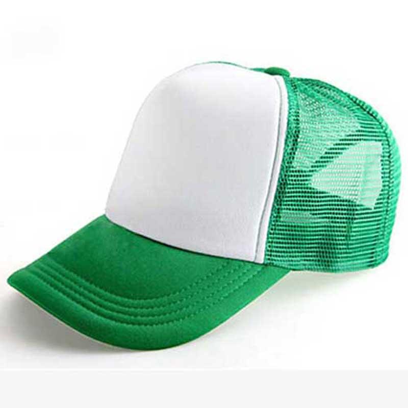 21ac12bd4bed6 Wholesale 10pcs Lot Cheap Mens Plain Trucker Hats for Spring Summer Womens  Blank Mesh Snapback Caps Men Foam Net Snap Back Cap