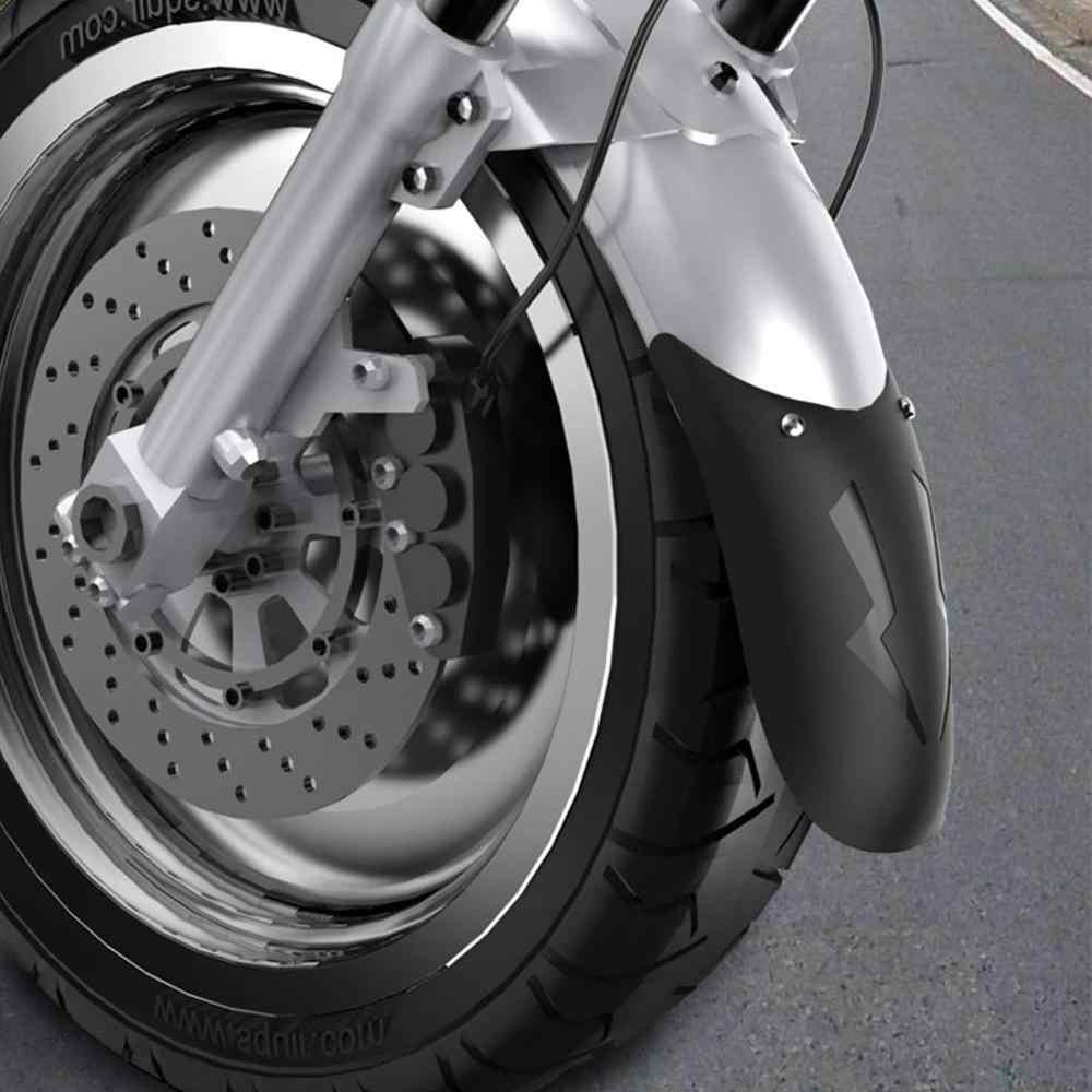 Evrensel Motosiklet Uzatmak Ön Çamurluk Arka ve Ön Tekerlek Uzatma Çamurluk Splash Guard Motosiklet Aksesuarları Için
