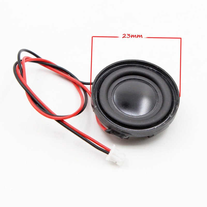Passive Components 10pcs 4r 3w 36mm Round Speaker Thickness 6.5mm Complex Film Bass Loud Speaker For High-end Toys E-book Electronic Components & Supplies