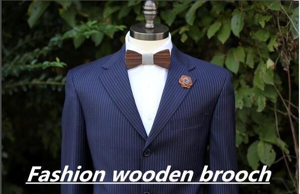 Новинка забавная индивидуальность мужчины для отдыха деревянный галстук бабочка бабочки