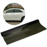 75cmx6M Car Van Window Tint Film Universal Fit for Privacy Sun Glare Heat Reduction (Olive Green)