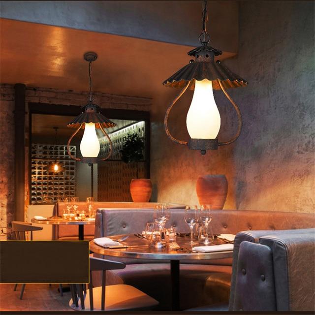 Schmiedeeisen Pendelleuchten Projekt Marke Design Bar Cafe ...