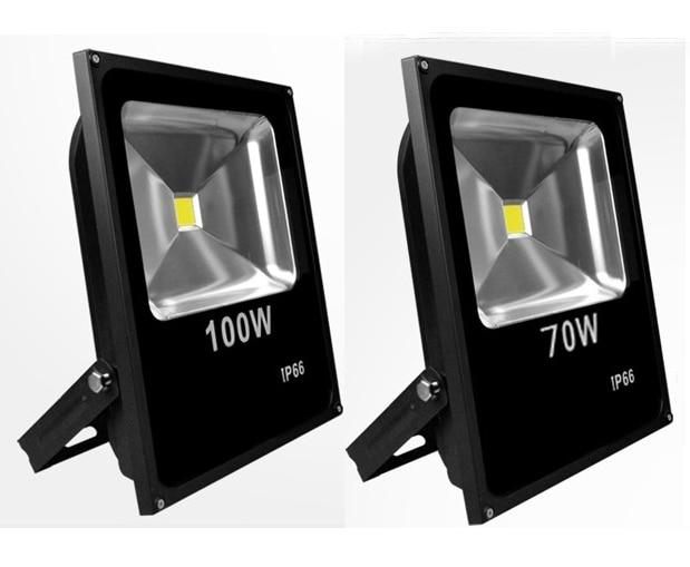 2pcs/lot LED Floodlight 100W Waterproof IP66 Warm White Cold White RGB Led Outdoor Lighting LED Spotlight Lamp DHL Free Shipping цена
