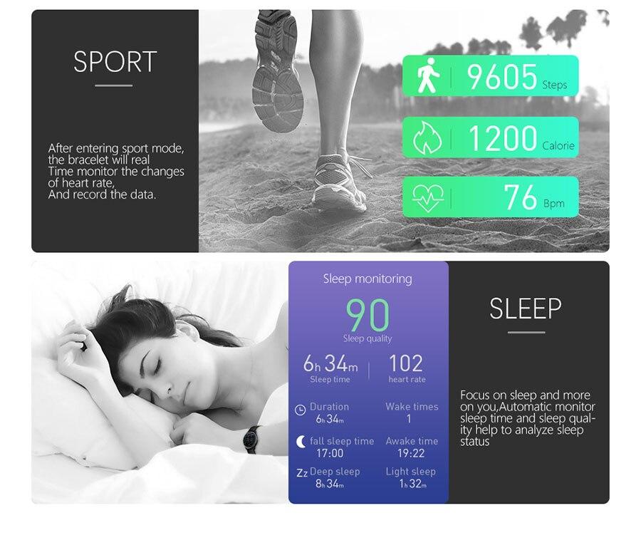 de pressão arterial chamadas sms lembrete inteligente smartwatch
