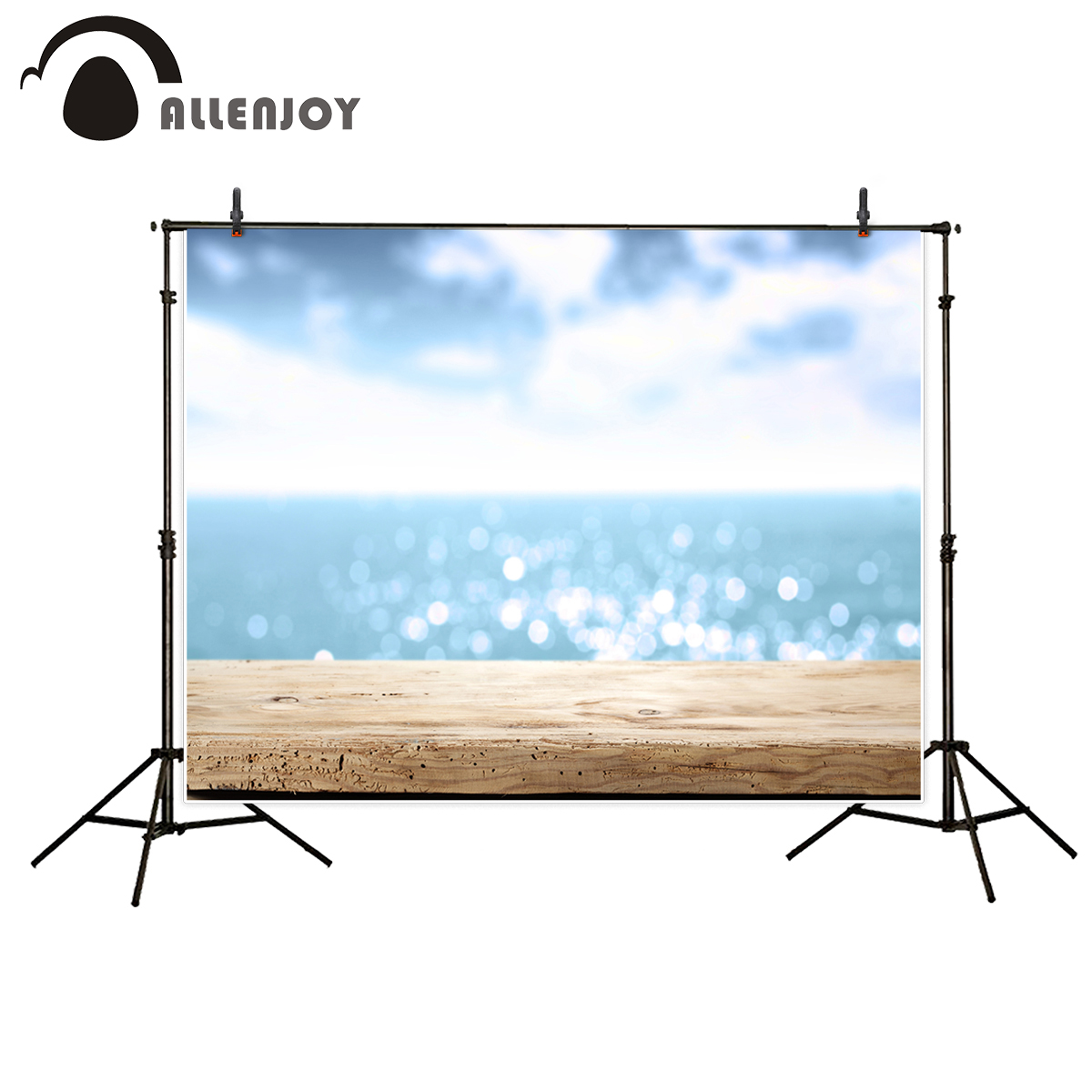 Allenjoy dreamy photography backdrops photographer wooden floor sea sunny interesting camera fotografica photographic background kate photographic background wood paneled walls of old letters newborn photography photocall interesting camera fotografica
