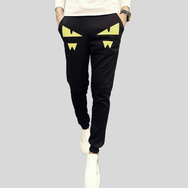 2015 nuevo otoño para hombre corredores hip hop danza harem pantalones de los hombres pantalones cargo pantalones joggers pantalones de chándal para los hombres