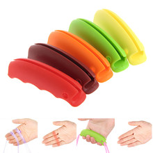Silicone Shopping Grocery Basket Plastic Bag Key Grip Holder Handle Carrier Tool(China)
