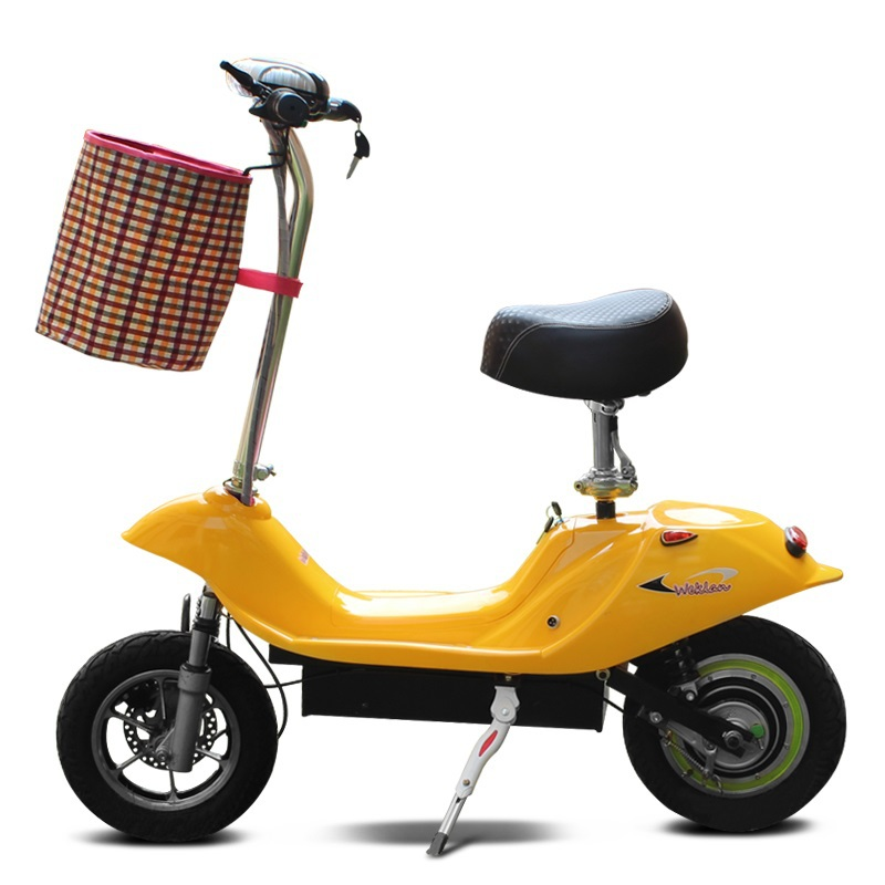 Small Dolphin Two Wheel Electric Bicycle For Women -4664