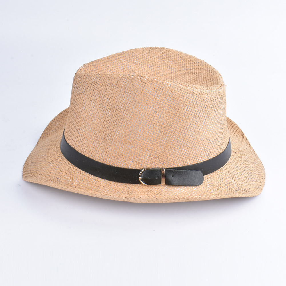 49d06febb31df Anself Summer Beach Women Hat Brim Ladies Sun Hat Casual Panama Straw Hat  Men Cap Sun Visor Cap Male Sombrero Chapeau Femme