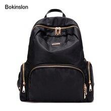Bokinslon Для женщин рюкзак холст мода женский рюкзак Повседневное Популярные Дорожные Сумки для дам