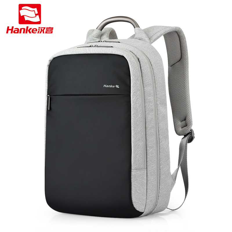 Anti theft Expandable Laptop Men Backpack Male Schoolbag Locked Female Travel Business Backpacks Women RFID Blocking