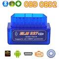 V2.1 Super Mini Bluetooth ELM327 Interface OBD2 OBD ii Sem Fio Scanner de Carro Ferramenta de Diagnóstico ELM 327 Para Android Torque do Windows