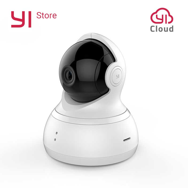 YI Dome Camera Pan/Tilt/Zoom Wireless IP Security Surveillance System HD 720p Night Vision (US / EU Edition)YI Dome Camera Pan/Tilt/Zoom Wireless IP Security Surveillance System HD 720p Night Vision (US / EU Edition)