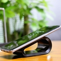 Fast Charging Qi Wireless Charger For Samsung Galaxy S6 S7 Edge Plus Note 5 7 Mobile Phone Universal Stand