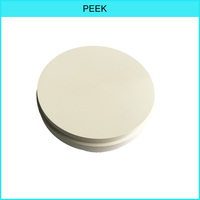 98mm Pink Peek material spec Diameter Compatiable with Dental Lab Open CADCAM System