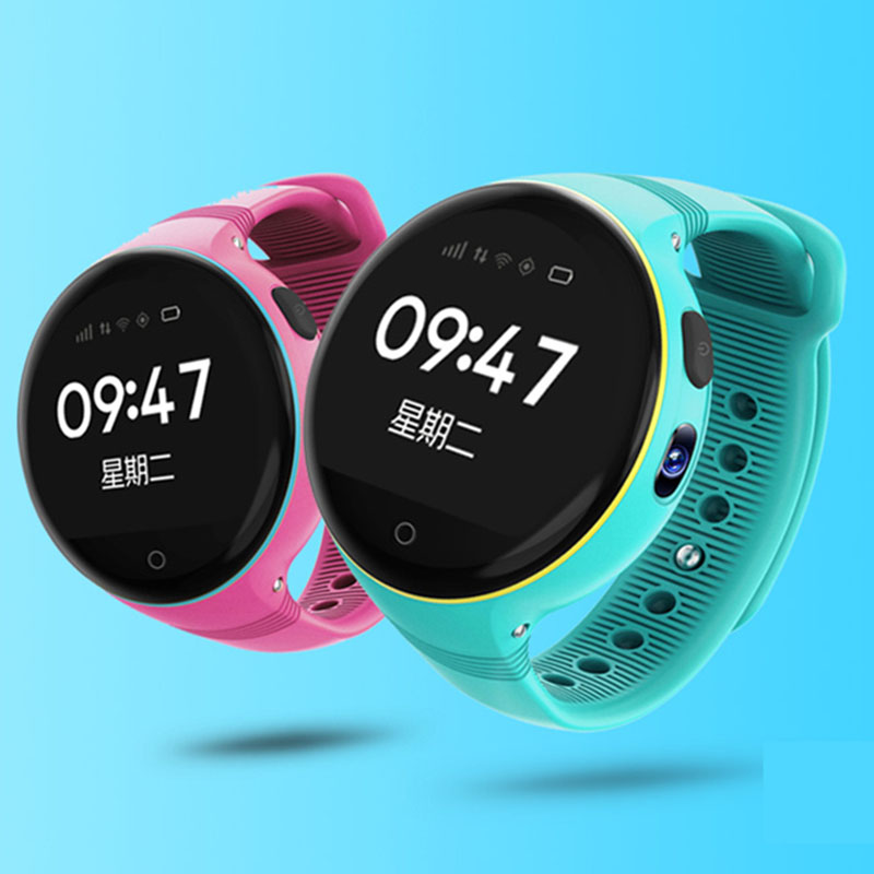 2017 new arrival round smart watch ts668 for kids children alarm kid smart watch phone gsm gps with sim card Track playback