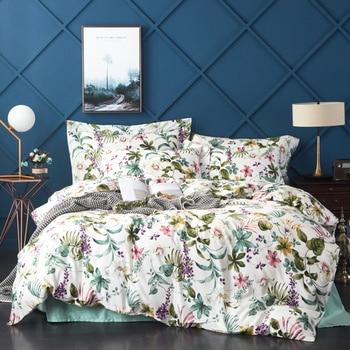 Bedding Sets Egyptian Cotton Comforter Bedding Set Bed Set Duvet Cover BedSheet Pillowcases M-Series Tropical Island Hawaii