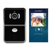 eBell ATZ-DBV04P Smart Wireless IP WiFi Video Doorbell with HD 720P IP Camera  Intercom Support iOS Android