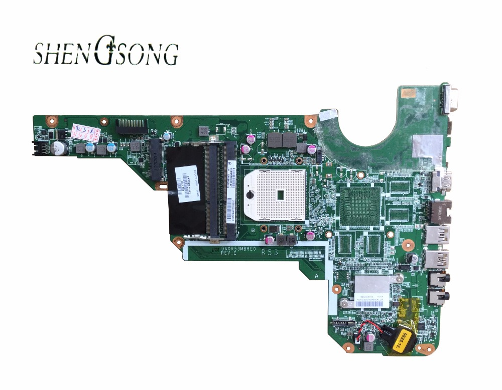 Free Shipping 683029-501 683029-001 for HP Pavilion G4-2000 G6 G6-2000 G7 Laptop Motherboard Mainboard DA0R53MB6E0 DA0R53MB6E1
