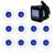 Inalámbrico Equipos de Restaurantes Sistema de Localización de Llamadas con 1 unid Negro Receptor de Host + 10 unids Transmisor Botón Localizador Montaña