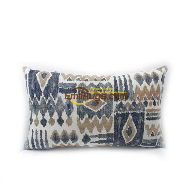 Digital printing IKAT Ika style printing cushion to do the old pillow waist pillow refurbished coffee shop 66gc154yg2