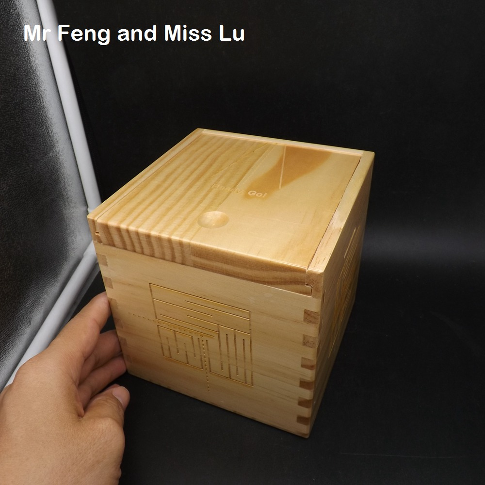 Kid Gift Simple Maze Characteristic Wood Box Puzzle Mechanism Game Toy plywood