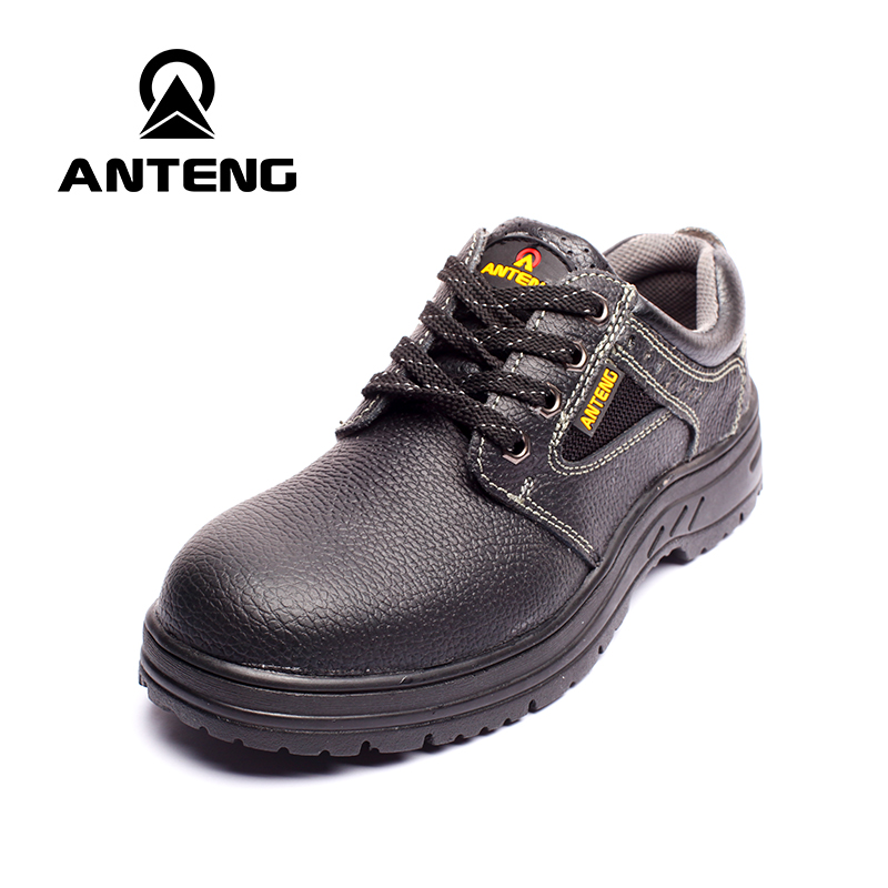 ФОТО Men's Spring 2017 Black Steel Toe Safety Platform Industry Factory Electrician Workshop Office Work Boots Worker Safety Shoes