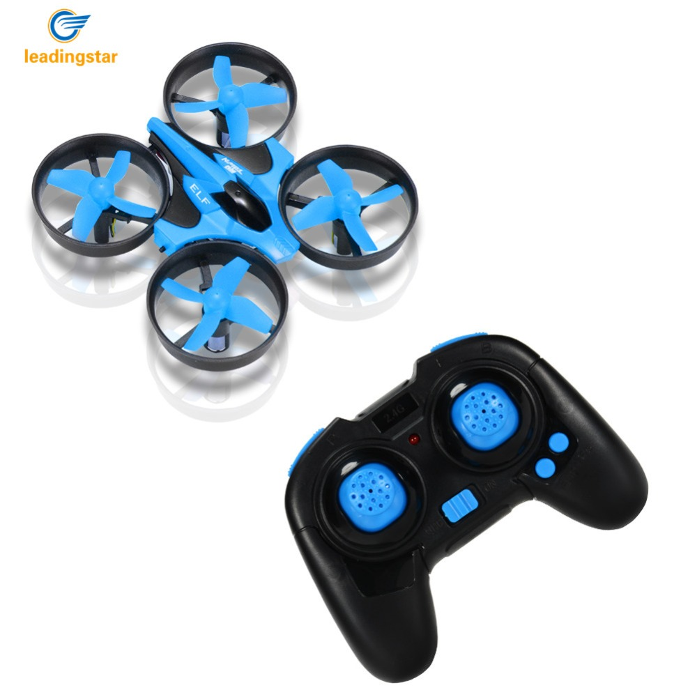 LeadingStar VS H36 Drone 2.4GHz 4CH Mini Quadcopter Drone with 6-Axis Gyro Headless Mode Remote Control Nano Quadcopter (Blue)