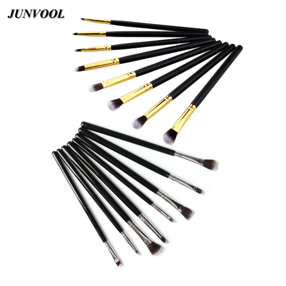 8Pcs Pro Makeup Brushes Set Make Up Cosmetics Pinceis Eyeliner Eye Shadow Eyebrow Lip Brush Cosmetic Tools Silver/Golden pro 20pcs set make up styling tools cosmetic eyeliner eyebrow lipsticks shadow wood pincel makeup blushes kit cosmetics pinceaux
