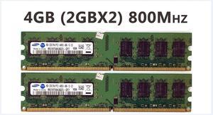 Image 2 - Dual channel 2GB 4GB 8g PC3 PC2 DDR2 DDR3 di memoria Sul Desktop 1333MHZ 1600MHZ 667 800 MHZ 8gb di RAM 2G 667MHZ 800 MHZ 1333 Modulo