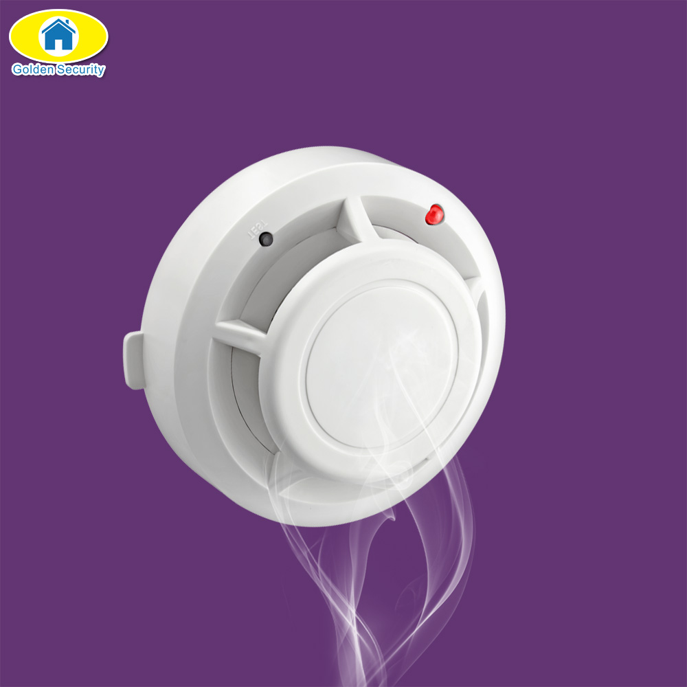 Golden Security Wireless Fire Smoke Sensor Detector Burglar KERUI Alarm System Industrial Security Alarm Accessories