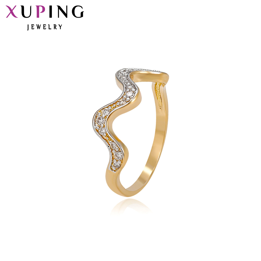 11.11 Deals Xuping Fashion Ring High Quality Charm Design Rings jewelry Promotion Wedding Valentine's Day Gift S25,3\S31,5-11481 image