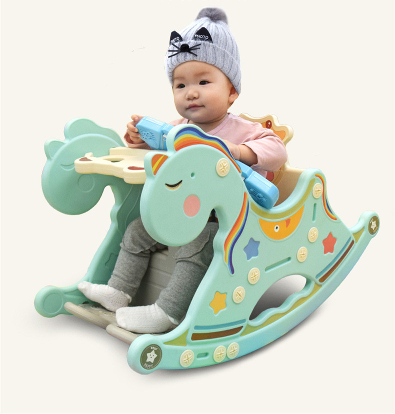 HTB1NXt7XtW5K1Rjt XBq6ysuFXas Cradle Baby Rocking Chair Music Trojan Baby Chair Chaise Rocking Horse Toy Lounge Placarders Chair Cradle Newborn Emperorship