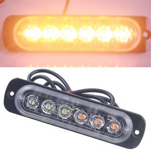 Car light Amber 6 LED Car Truc