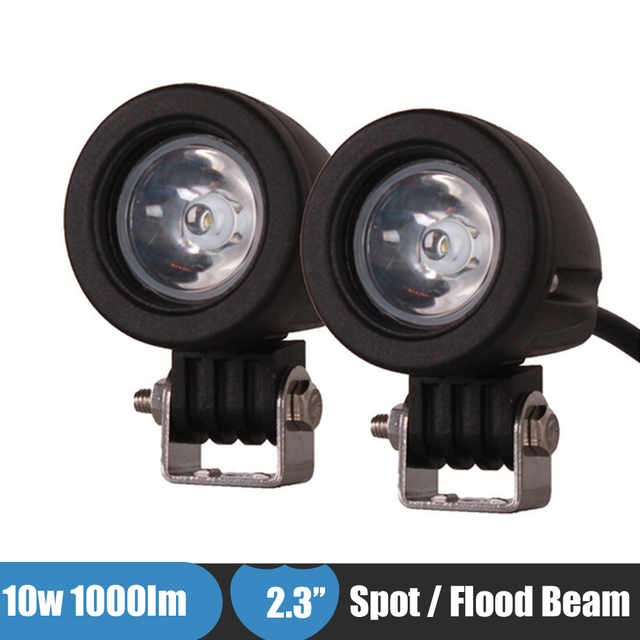 1000lm 10w motorcycle bicycle led headlight fog light mini led work 1000lm 10w motorcycle bicycle led headlight fog light mini led work light bar offroad lights for mozeypictures Images