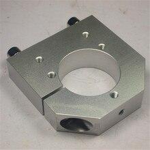 43 ミリメートルスピンドル Kress 用アルミ合金スピンドルマウント diy CNC フライス機械部品 ShapeOkO